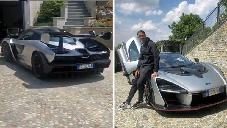 "Cristiano Ronaldo shows off ""his"" new (and very exclusive) car"