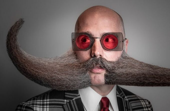 Who has the largest? World Mustaches and Beards World Championships