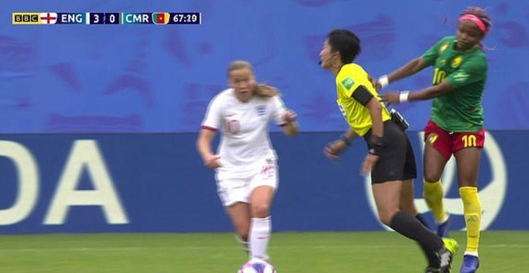 World Cup match between Cameroon and England was full of drama