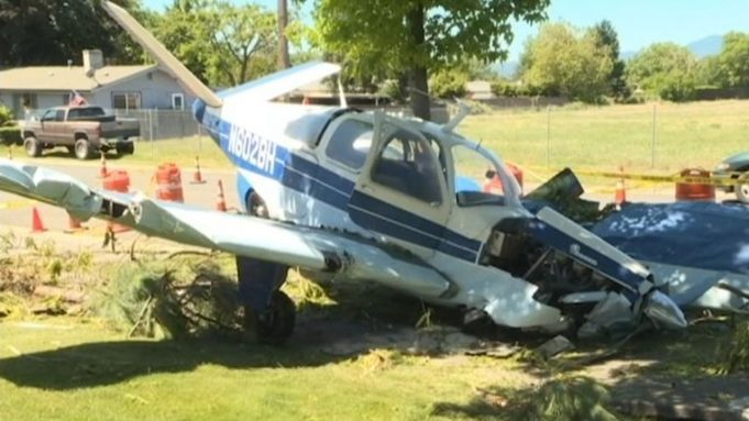 Airplane full of cannabis crashes in front yard