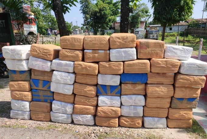 "Police: ""Anyone lost 590kg of cannabis? Don't panic. We found it"""
