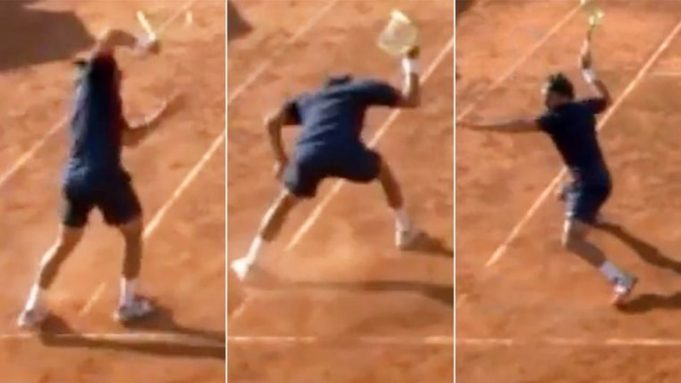 This must be the biggest rage outburst ever in tennis