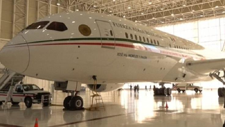 Mexico selling presidential plane to reinforce the border