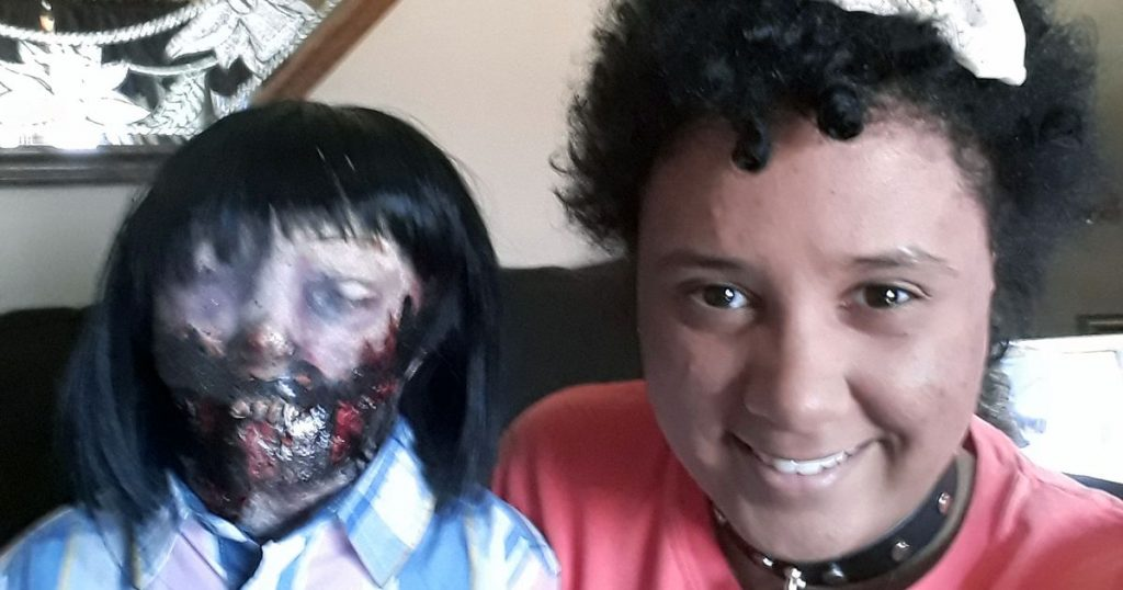 19-year-old girl reveals why she married her zombie doll [Photos]