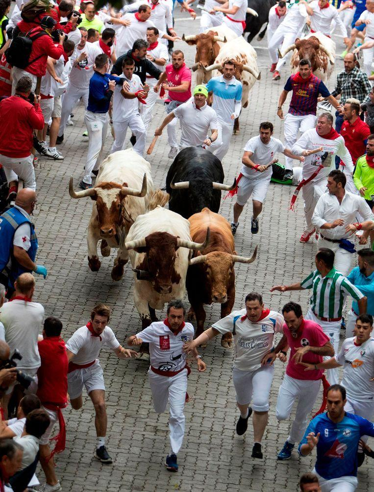 First day of Pamplona bull racing: 5 injured, 1 participant impaled [Photos]