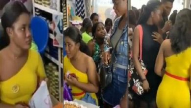 ladies queue to buy charm that makes men vibrate in bed [video]