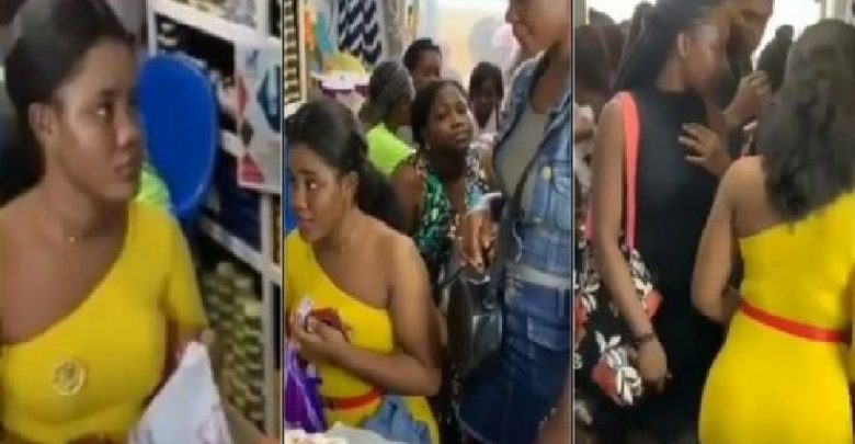 Photo of Ladies queue to buy charm that makes men vibrate in bed [video]