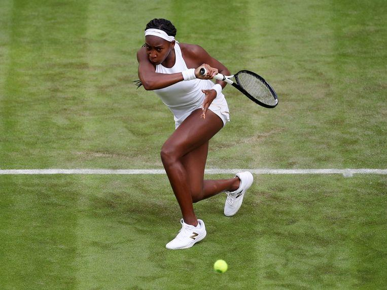After her chemistry exam, she takes her 24-year-old idol off the job: CoCo Gauff fairy tale (15)