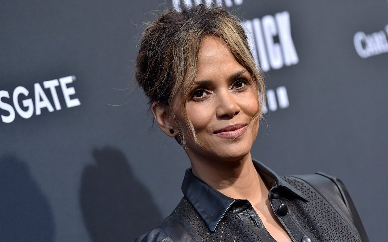 "Halle Berry shares photo without bra: ""leveled up circa' 66"""