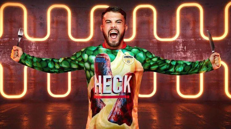 "Ugliest t-shirt in the world? Club launched jersey with ""sausages"" as main theme"