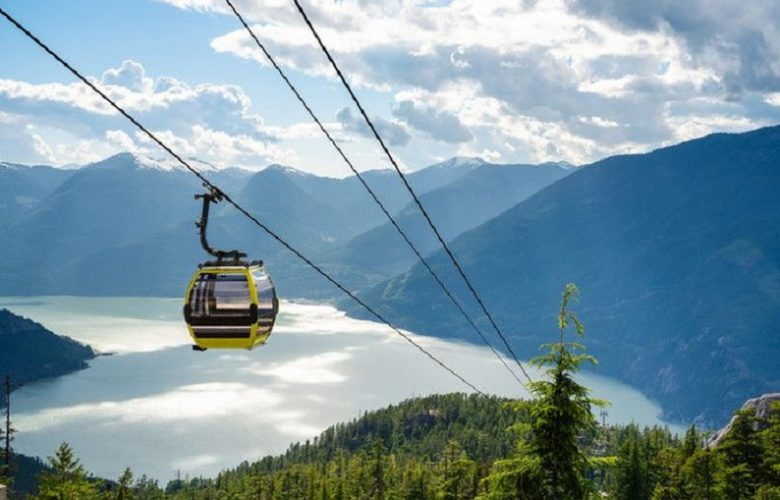 Sabotaged Canadian cable car: thirty cabins crash down