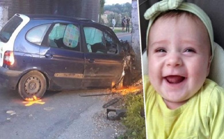 Girl (1.5) died after car accident: parents let her die alone