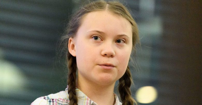 Photo of Greta Thunberg, an itinerary of a spoiled child
