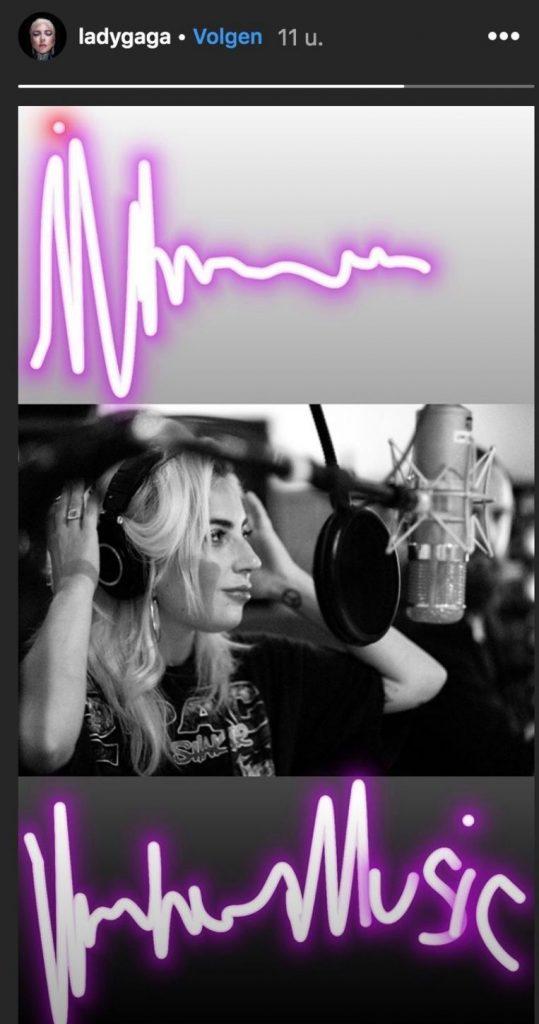 New album for Lady Gaga?
