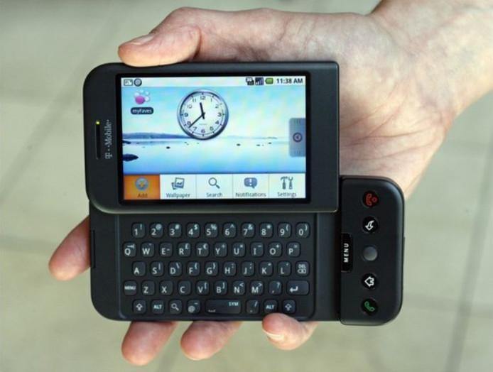 The entry of Android: HTC Dream (2009)