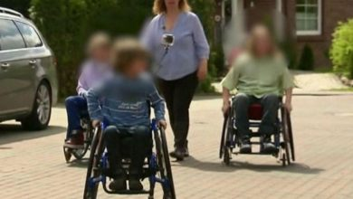 Mother forces four children to sit in a wheelchair to be able to commit social fraud