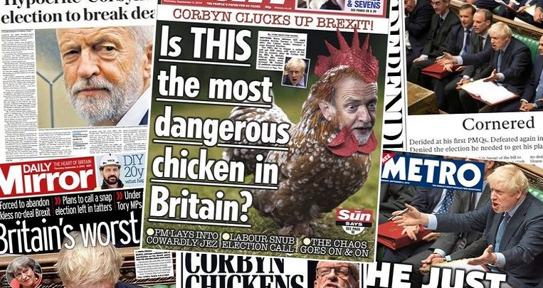 """Photo of """"Is this the most dangerous chicken in Britain?"""""""