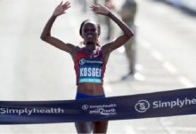 Kenyan Kosgei holds world record for women's half marathon