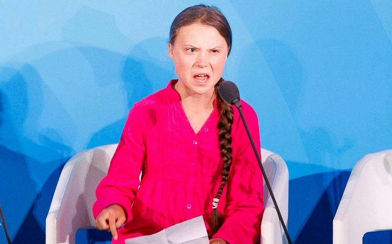 "Greta Thunberg also celebrates Halloween: ""I don't even have to dress up"""
