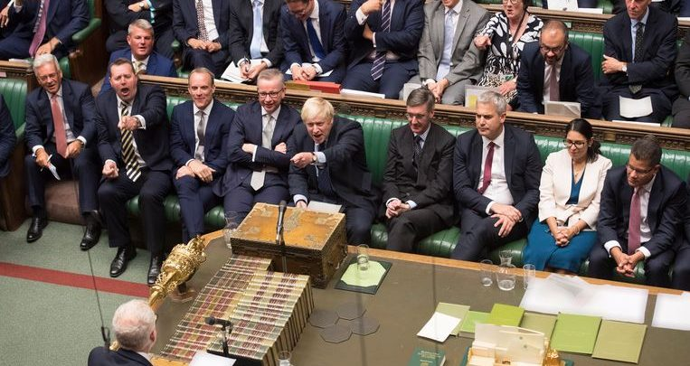 """Photo of """"Chlorinated chicken"""": Boris Johnson lashes out at opposition leader Jeremy Corbyn"""
