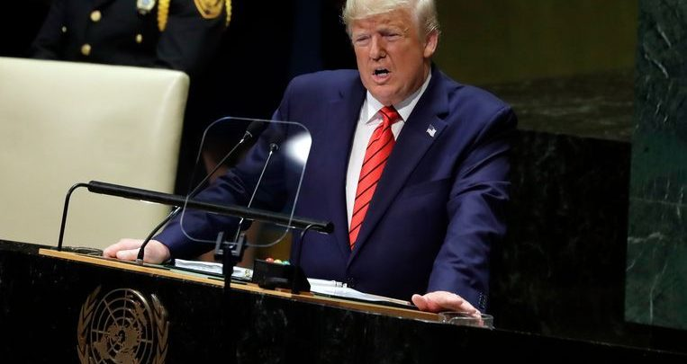 Photo of China rejects Trump's criticism during UN speech