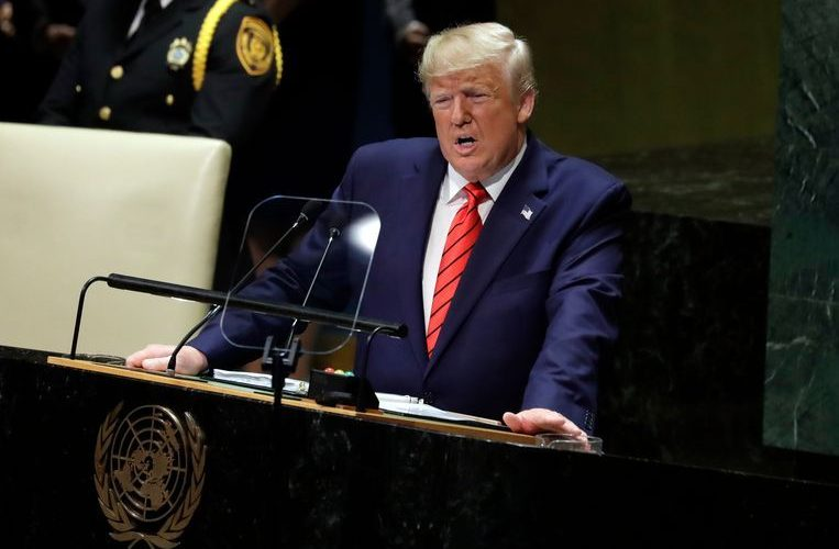 China rejects Trump's criticism during UN speech
