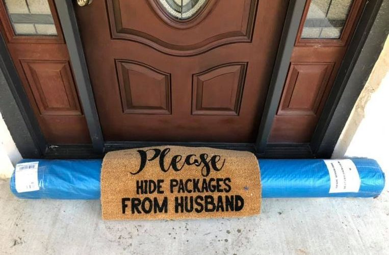 """Please hide packages from husband"": amazing 'effort' of UPS guy"