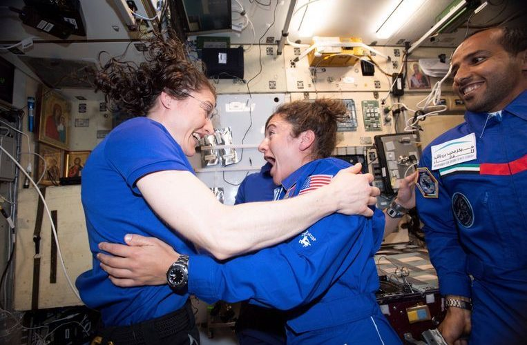 NASA is planning a spacewalk with only women