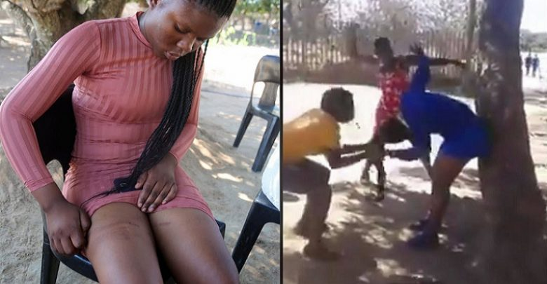 Photo of 3 women beat lady for sleeping with a married taxi driver [Video]