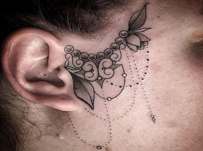 Trendspotting: tattoos on your face