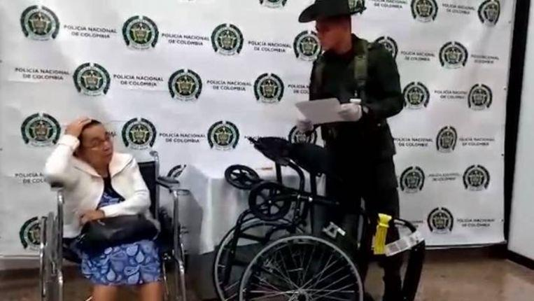 81-year-old woman caught with 3 kilos of cocaine in wheelchair
