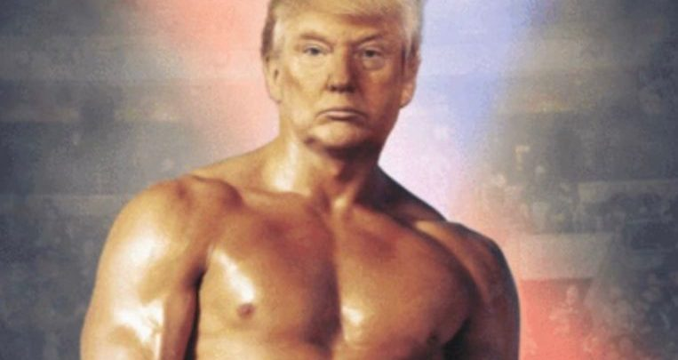 Photo of Trump posts a picture of himself as Rocky, and what he means by it
