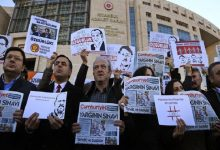 Photo of 250 journalists in prison worldwide, mainly in China and Turkey