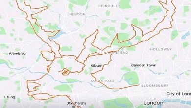 Photo of Cycling Brit creates reindeer on Strava in 9 hours